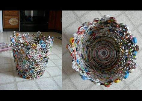 cestos en materiales reciclables 161 papel reciclado para tu nueva papelera ecoembes
