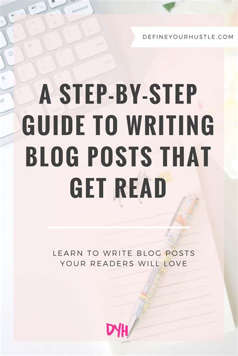 write posts readers a step by step guide books writing posts that get read 9 essential steps for