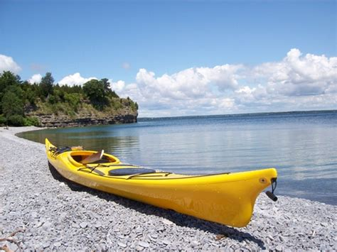 can you drink on a boat in ontario kayaking to the magic of half moon bay s little bluff