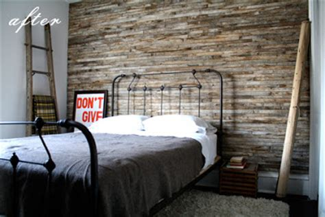 textured accent wall the one above appears to be clean aged slats while the