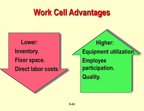 work cell layout strategy ppt operations management layout strategy chapter 9