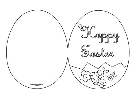 easter card template ks1 happy easter card printable easter easter