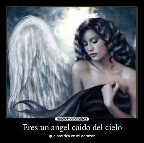 imagenes impactantes de un angel caido eres un angel caido del cielo desmotivaciones