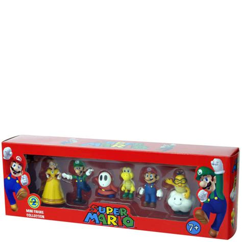 Bros Mini mario bros mini figures box set series 2 merchandise zavvi