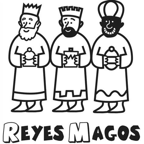 imagenes reyes magos niños dibujos de los tres reyes magos para imprimir dibujos
