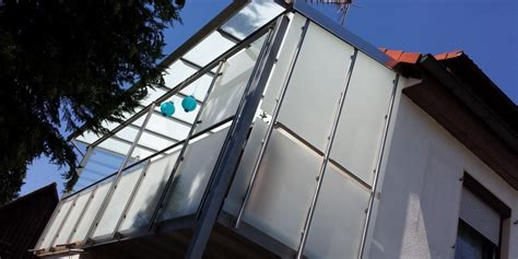 balkongeländer glas edelstahl aussen gel 228 nder treppe 1