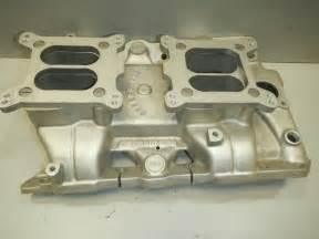 Pontiac 350 Intake Manifold Offenhauser Pontiac 350 400 455 2x4 4 Bbl Aluminum Intake