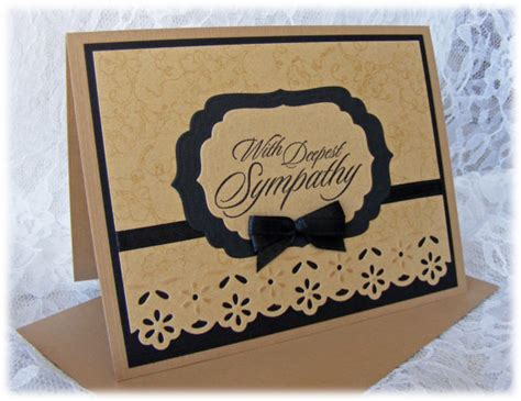 Sympathy Cards Handmade - handmade sympathy card with in by pineapplesoupdesigns