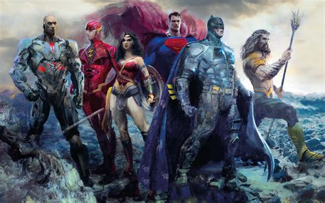 justice league the art justice league artwork 4k wallpapers hd wallpapers id 21764