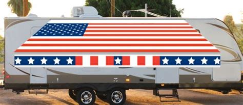 custom rv awning fun in the shade rv awning replacement fabric custom american flag 2 basic rv