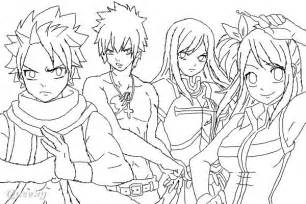 Fairy Tail WIP ← An Anime Speedpaint Drawing By Xaciel  Queeky sketch template