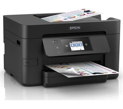 Printer Epson Bisa Fax buy epson workforce pro wf 4725 all in one wireless inkjet printer with fax free delivery currys