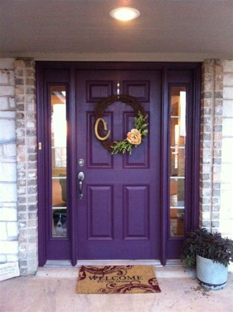 purple door meaning the 25 best purple front doors ideas on pinterest