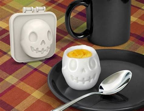 Skull Egg boiled egg mold egg a matic shaper skull for egg mold