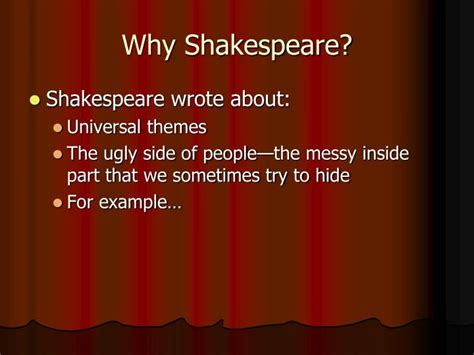 universal themes in hamlet ppt shakespeare elizabethan times powerpoint