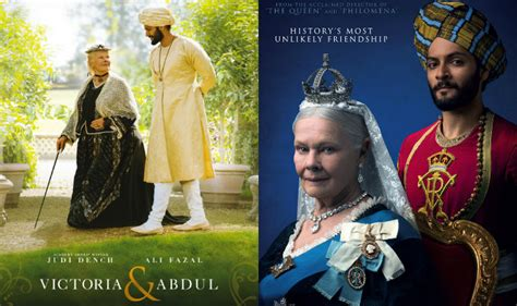 film queen victoria and abdul victoria abdul trailer judi dench and ali fazal s