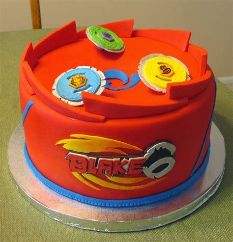Cake Decorating Ideas At Home by J S Cakes Beyblades Battle Arena Birthday Cake