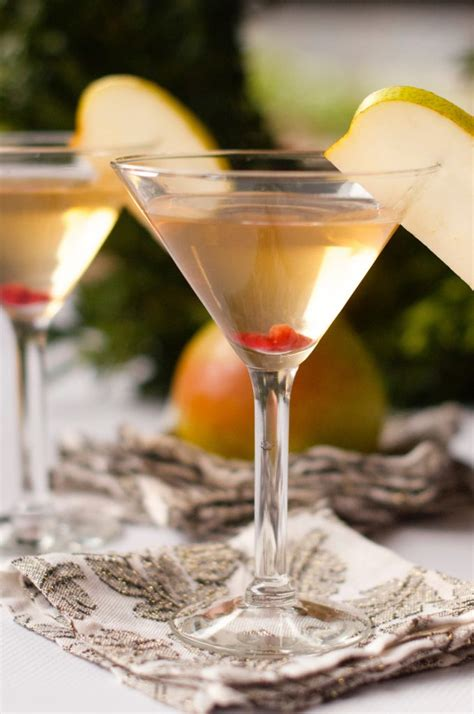 martini pear pear martini recipe harry david