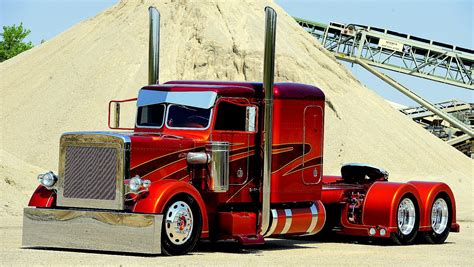 truck shows semi trucks haulers radical futuristic race