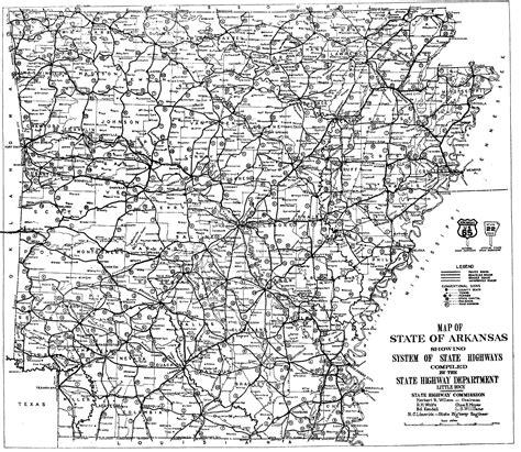 printable road map arkansas file 1926 arkansas numbering png wikimedia commons