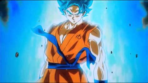 imagenes de goku ssj dios azul goku se transforma en super saiyajin dios azul hd youtube