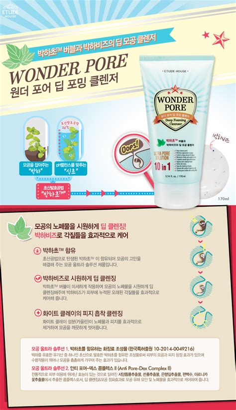 Jual Etude House Pore jual etude house pore foaming cleanser