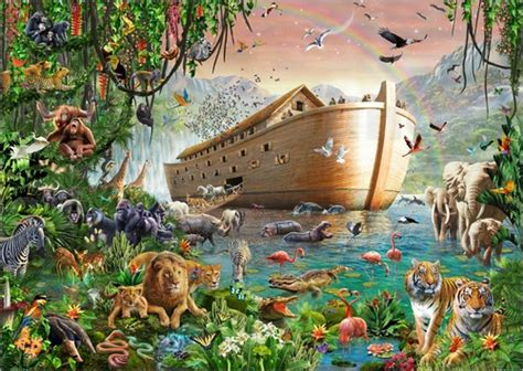 Dining Room Wall Murals by Adrian Chesterman Noah S Ark Poster Posterlounge