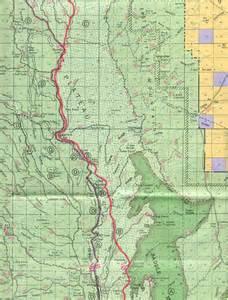arizona trail map arizona trail buckskin mountain passage 43