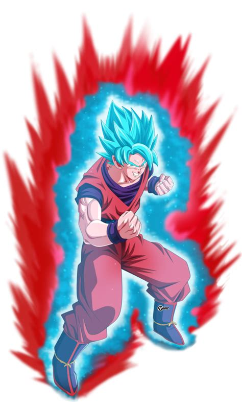 Imagenes De Goku Kaioken Blue   goku ssj blue kaioken by naironkr on deviantart