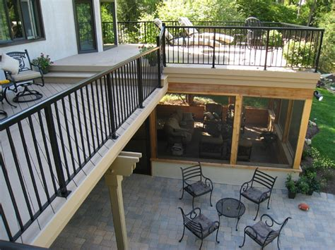 dry deck space custom decks porches patios sunrooms