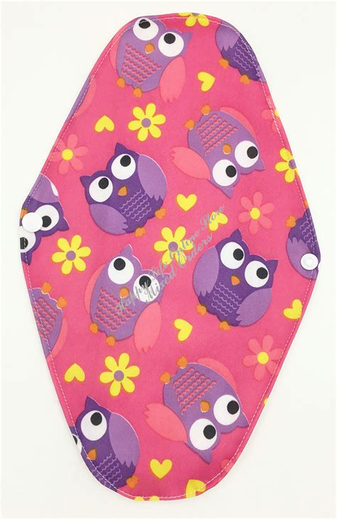 most comfortable pads period 5pcs lot cute owl 12 quot comfortable soft bamboo reusable