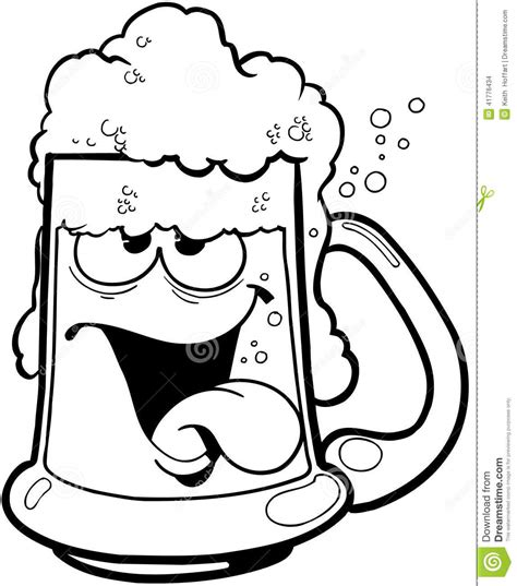 beer cartoon black and white beer mug clip art vector drunk clipart panda free
