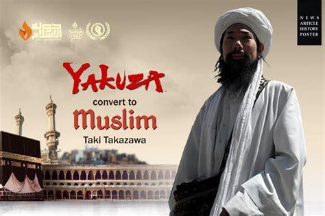 tato bagi islam subhanallah taki takazawa tukang tato yakuza menjadi
