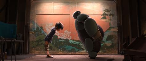 film disney hero new big hero 6 trailer gives the cuddly robot baymax a big
