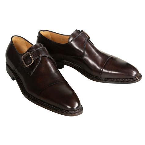 Leather Shoes Handmade - sutor mantellassi monk dress shoes for 1133m