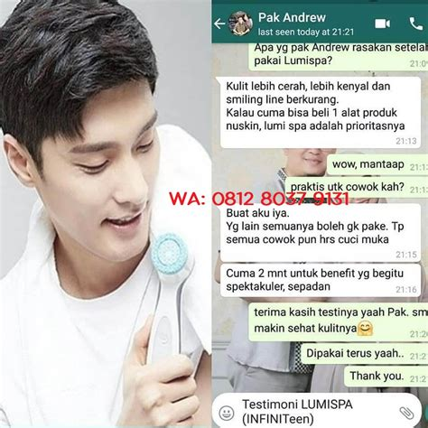 Suplemen Nu Skin promo ageloc lumi spa nu skin indonesia harga lumi spa