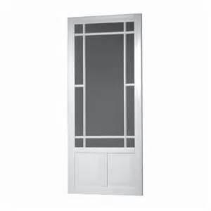 diy 32 in white vinyl screen door lowe s canada