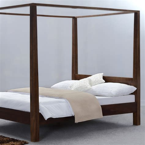 canopy bed wood solid wood canopy bed home design