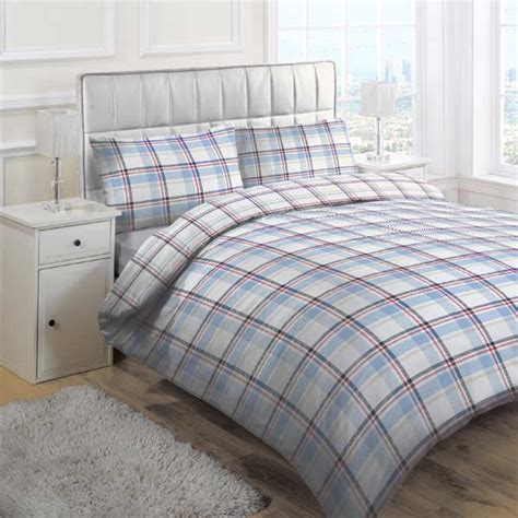 Check Duvet Set linens limited check duvet cover set ebay