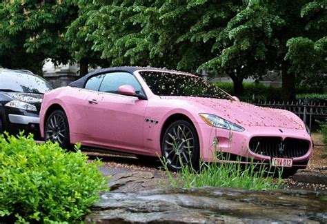maserati pink how about a pink maserati grancabrio car news top speed