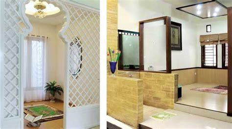 contoh desain mushola dalam rumah desain mushola yang indah dalam rumah minimalis
