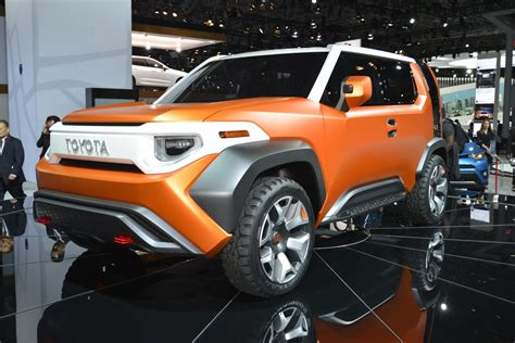 Future Fj Cruiser by Toyota Ft 4x Concept Revealed As The Millennial S Fj Cruiser