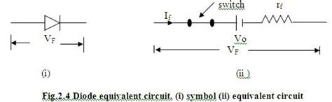 pn junction diode equivalent circuit electronique diode equivalent circuit