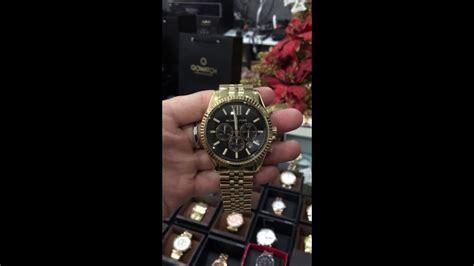 article michael kors dont like blacks michael kors lexington chronograph black dial gold tone