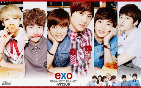 exo wallpaper with name exo k ivy club wallpaper by nookarn