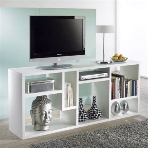 tv stand entertainment center furniture bookcase in white