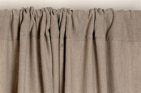 custom linen curtains linen curtain custom length rod pocket top window drapes