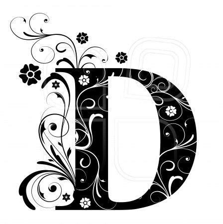 Pochoir Lettre 919 by Letter D Alphabet Arabic Letters A Through Z