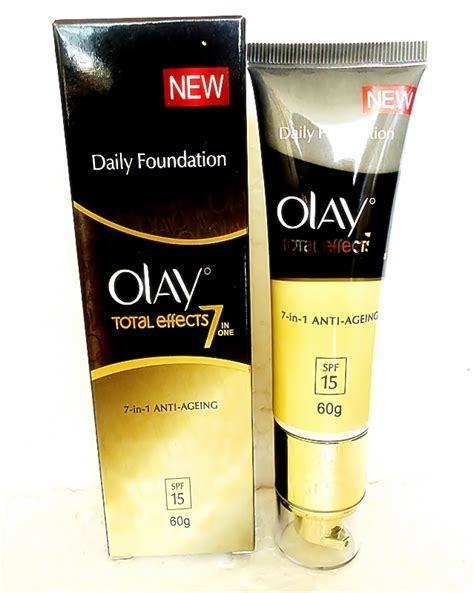 Olay Foundation olay total effects 7 in 1 day touch of foundation normal 60 g in india shopclues