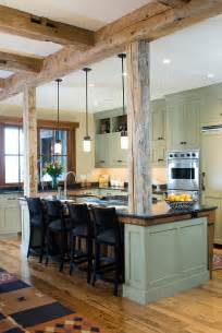 Rustic Modern Kitchen Cabinets by Remodelaholic White Country Kitchen Remodel With Marble